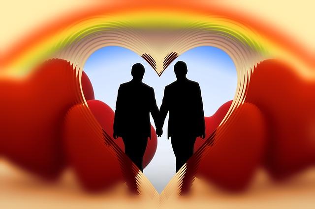 dva muži v srdci