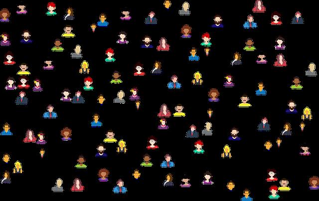 spojení lidí